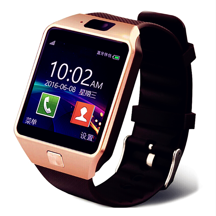 Smartwatch DZ09 Smart Watch Support TF Card SIM Camera Sport Bluetooth Wristwatch for Samsung Huawei Xiaomi Android Phone