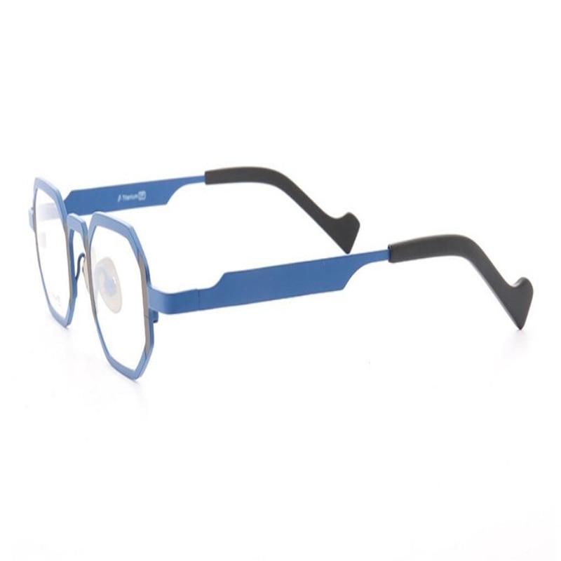 Rahmen Qualität Hohe Multi Weit Sehen Reinem brennweite Gläser Blau Brillen Progressive Lesen Titan Der Vollrand Mode Von Unisex Nähe In vvxwT0rdq