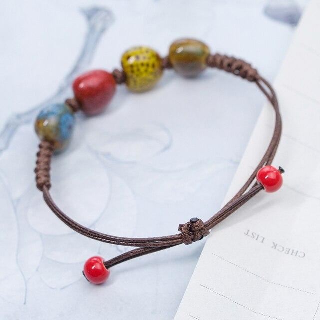 DIY Boho Ceramic Bracelets bracelets bangles Bracelets Bangles jewelry drop shipping fashion bracelet