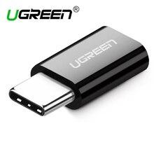 Ugreen micro usb к type c адаптер зарядный кабель конвертер для samsung s9 s8 huawei P20 xiaomi 9 usb c адаптер Android зарядное устройство