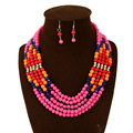 African Beads Jewelry Set Fashion Jewelry Sets Nigerian Wedding African Beads Statement Necklace Set African Jewelry Set NK821