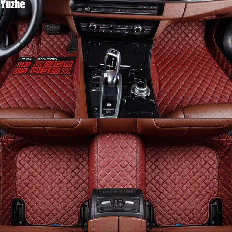 Yuzhe Auto voiture tapis de sol Pied tapis Pour porsche cayenne 955 étanche accessoires car styling