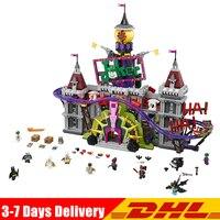 В наличии Лепин 07090 Super Hero 3857 шт. Джокер усадьба комплект Совместимость LegoINGLY 70922 модель строительные блоки кирпичи игрушки