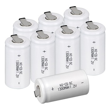 30x Anmas Power Ni Cd NICD 1.2V 1300mAh Rechargeable Battery SC 1.2V NiCd Rechargeable Batteries White - RU Shipping