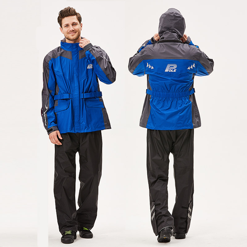 outdoor sports wind resistant Fashion Outdoor sports Wind-resistant jacket men waterproof rain coat suit. wear-resisting motorcycle raincoat, ULTRA LIGHT (4)