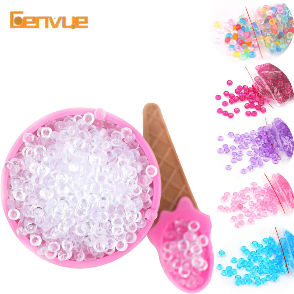 20g Colorful Bead Balls Addition For Slime Toy Craft Fish Tank Filler For Charms Hand Gum DIY Decor For Kid Accessories Supplies