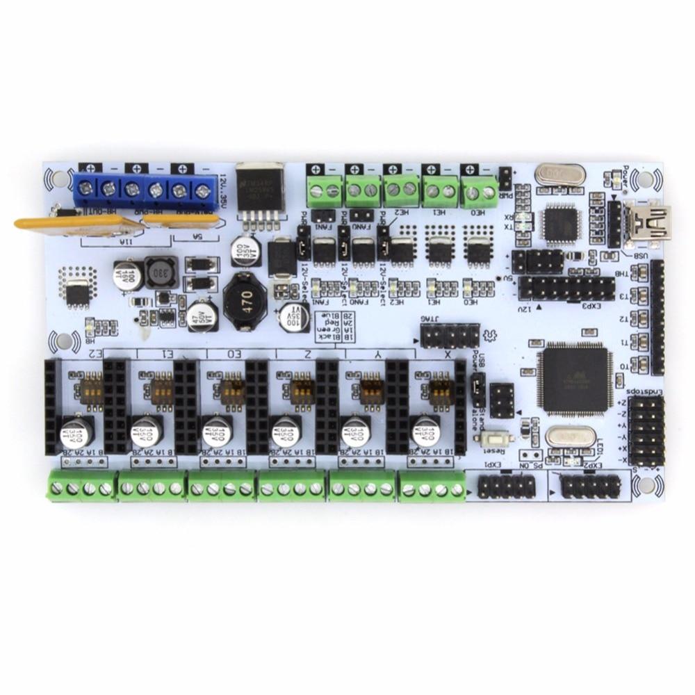 BIQU Rumba For 3D printer motherboard rumba MPU / 3D printer accessories RUMBA optimized version control Board