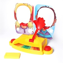 Funny Double Person Toy  Cake Cream Pie In The Face  Anti Stress Toy for kids