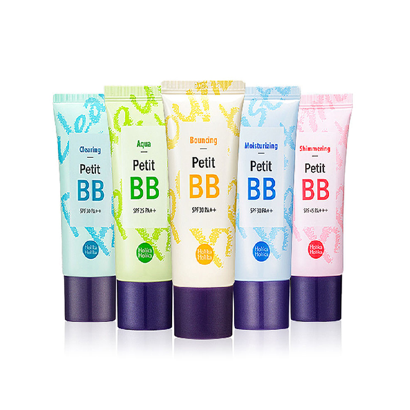 HOLIKA HOLIKA Petit BB Cream 30ml 8 Type Pop BB CC Cream Whitening Makeup Concealer Foundation Moisturizing Korea Cosmetics image