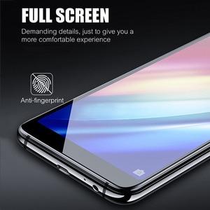 Image 4 - 5D Gehärtetem Glas Für Samsung Galaxy A7 J4 J6 + J8 A6 A8 2018 Glas Screen Protector Volle Glas Für samsung A6 A8 J4 J6 Plus 2018