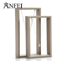 Free Shipping High Grade Black Necklace Display Jewelry Display Shelf Jewelry Organizer Jewelry Holder Jewelry Stand