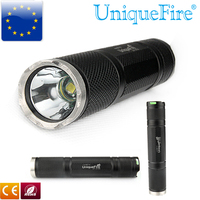 UniqueFire Flashlight UF 2100 3 Modes Cree T6 Led Buld Hand Rechargeable Black Led Lamp Aluminum