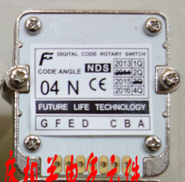 04N Rotary switches band switch FUTURE Digital band switch feed override CNC panel knob switch цена
