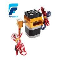 3D-принтеры головы MK8 экструдер j-глава hotend насадка 0.4 мм вход питания Диаметр 1.75 нити с сопла и метр кабель