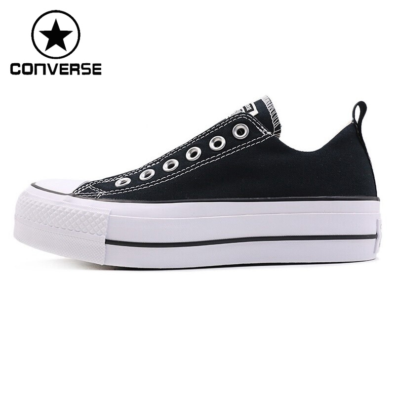 Original New Arrival 2019 Converse Fashion Women's Skateboarding Shoes Canvas Sneakers