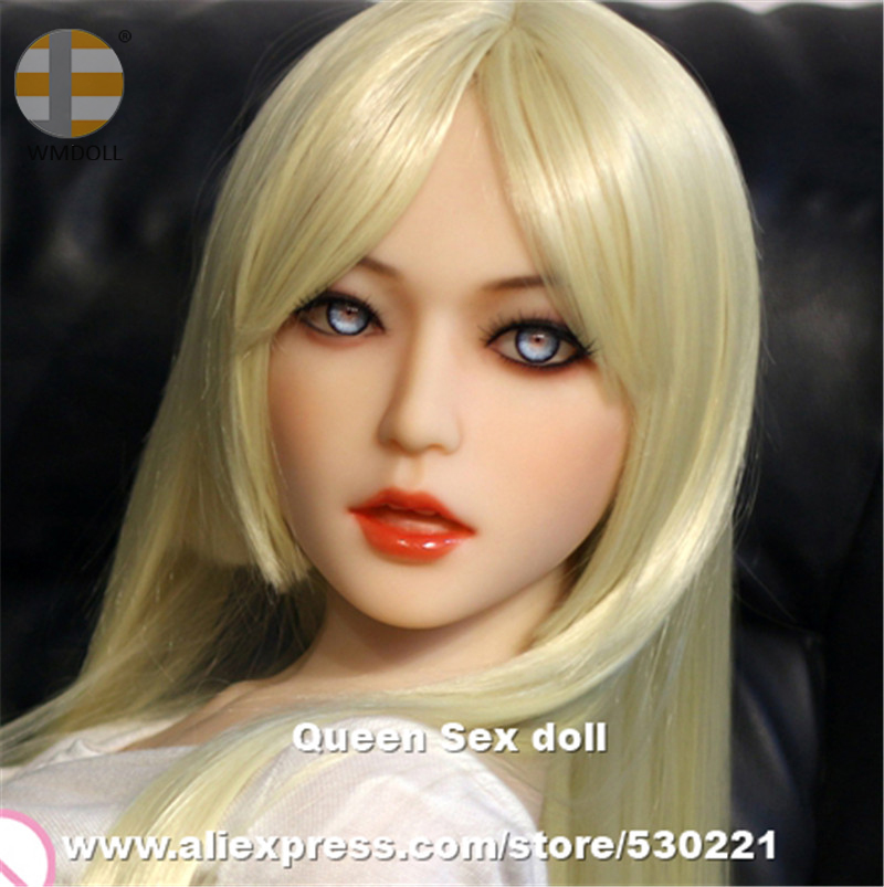 WMDOLL Top Quality Love Doll Heads For Real Silicone Sex Dolls Japanese Real Doll Head With Oral Sexy top quality oral sex doll head for japanese realistic dolls realdoll heads adult sex toys