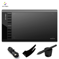 12 Graphics Pen Tablet Drawing Tablet Signature Board Pad With 8 Hot Keys Compatible With Windows