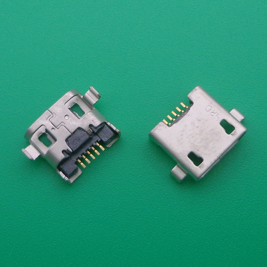 10pcs Mini Micro USB DC Charging Socket Port Connector jack power <font><b>plug</b></font> For Blackview BV5000 For Doogee <font><b>T5</b></font> lite USB jack image