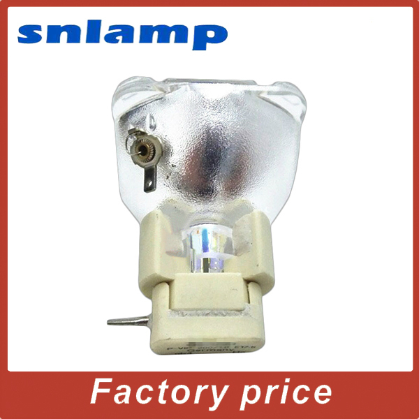 100% Original Bare Projector lamp EC.J1601.001 Bulb for PD125 PD125D 100% original bare projector lamp bulb bl fu280b sp 8by01gc01 bare lamp for ex765 ew766