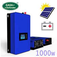 1000 w modo de energia de descarga da bateria/mppt energia solar grid tie inversor dc 22 v-60 v ou 45 v-90 v vento/sistema fotovoltaico