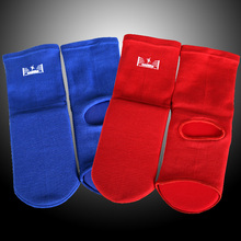 Elastic knitted fabrics sanda foot support Foot Guard Leg Instep Protector Ankle Support MMA Muay thai taekwondo Foot protector