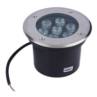 7W LED Waterproof Outdoor In Ground Garden Path Flood Landscape Light DC 12V