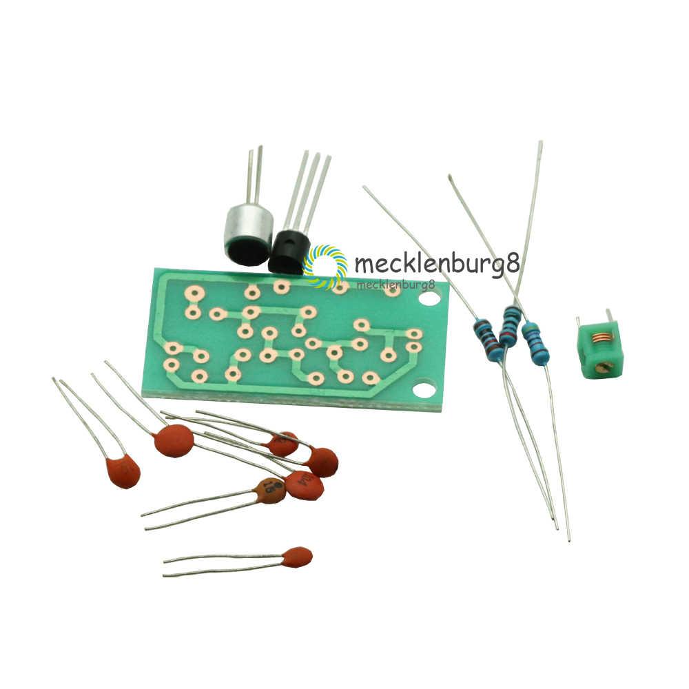 Módulo transmisor FM Mini micrófono inalámbrico de Radio Frecuencia de PCB Junta 91-103MHz 3 V-5 V DC para DIY