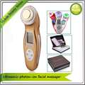 3MHZ Ultrasonic Galvanic Ion Facial Beauty Machine For Face Lift Wrinkle Removal Skin Tightening