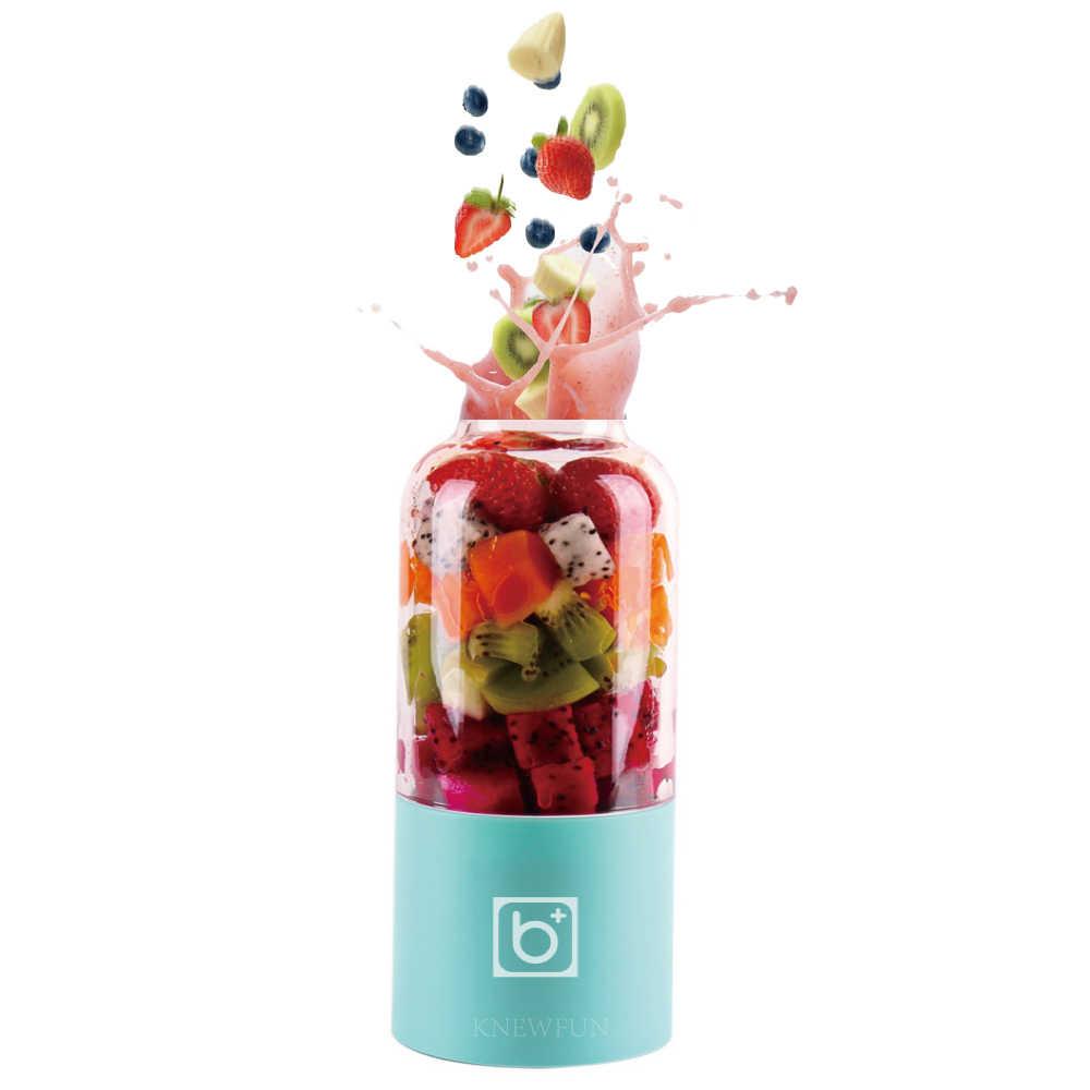 2600mAh Baterias Recarregáveis USB Destacável Copo Espremedor Portátil Pessoal Liquidificador Shaker Misturador de Frutas Máquina de Suco De Vegetais