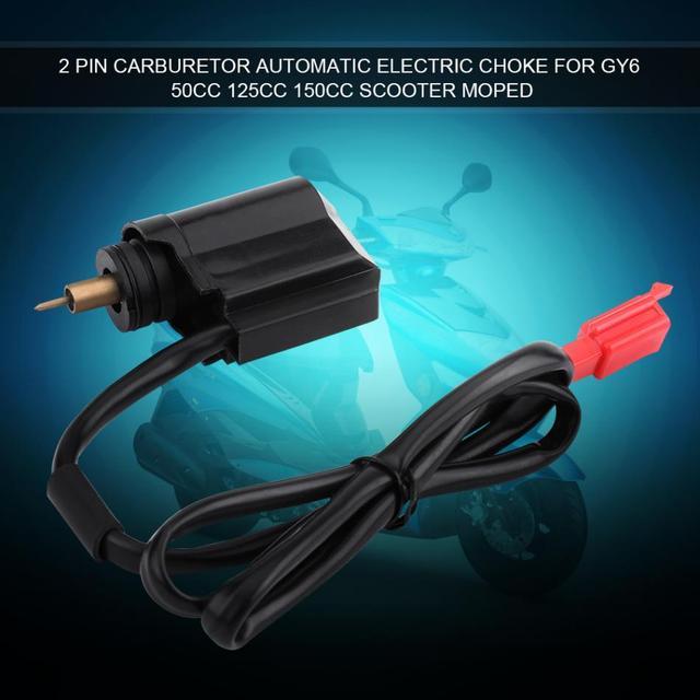 2 Pin Carburetor Automatic Electric Choke for GY6 50cc 125cc 150cc ...