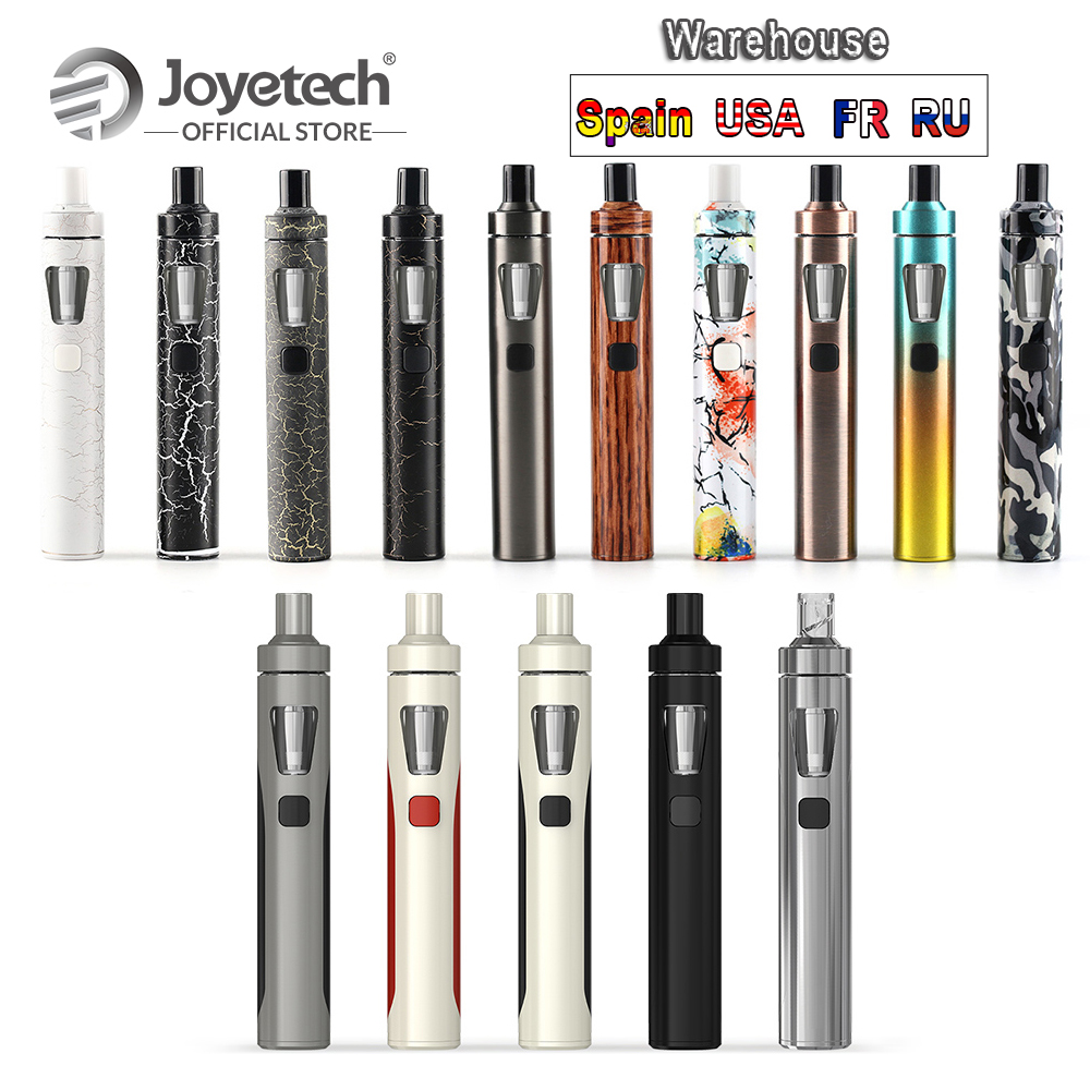 [RU/EUA/ES/FR] Original Joyetech eGo Kit AIO Com 2ml Construir Tanque no 1500mAh Bateria BF SS316 Caneta Vape 22 E-Cigarro 0.6ohm