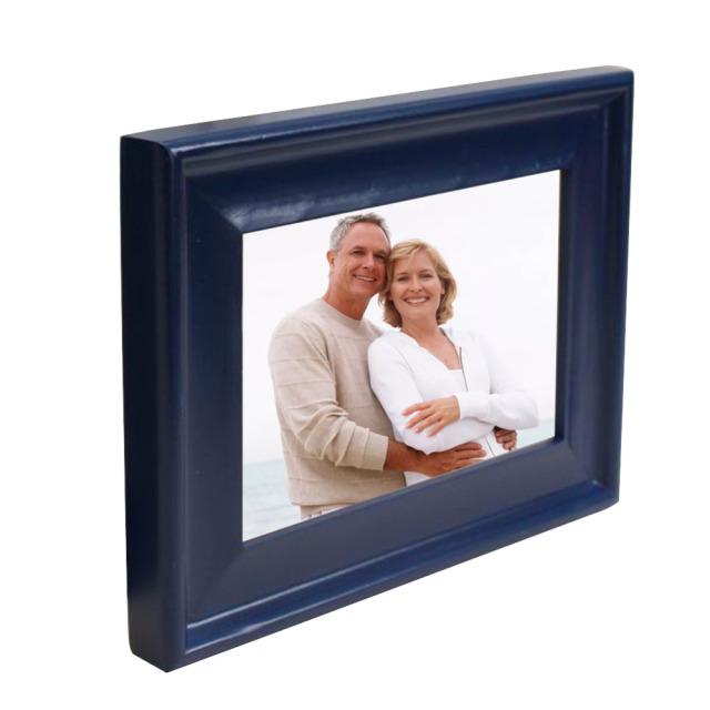 Rectangle Various Sizes Blue Wooden Frames Solid And Durable Wall