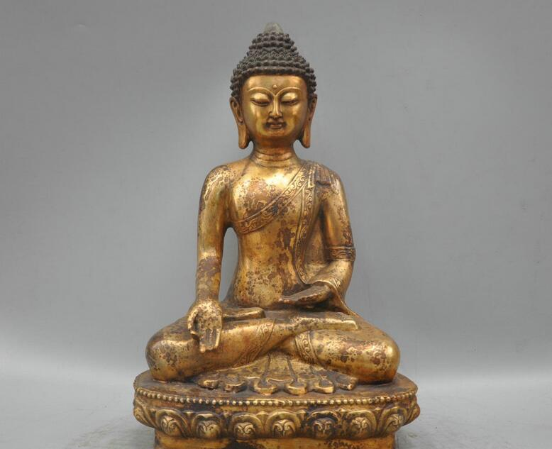 free 14Ming Tibetan Buddhism Bronze Shakyamuni Mahavairocana Sculpture Statue fastfree 14Ming Tibetan Buddhism Bronze Shakyamuni Mahavairocana Sculpture Statue fast
