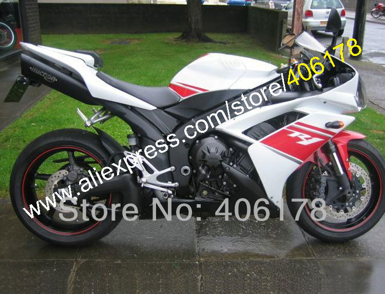 Hot Sales,ABS fairing For YAMAHA YZFR1 2007 2008 YZF R1 YZF1000R 07 08 white red black bodywork Fairing Kit (Injection molding) hot sales for yamaha yzf r1 2007 2008 accessories yzf r1 07 08 yzf1000 black aftermarket sportbike fairing injection molding