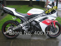 Hot Sales,ABS fairing For YAMAHA YZFR1 2007 2008 YZF R1 YZF1000R 07 08 white red black bodywork Fairing Kit (Injection molding)