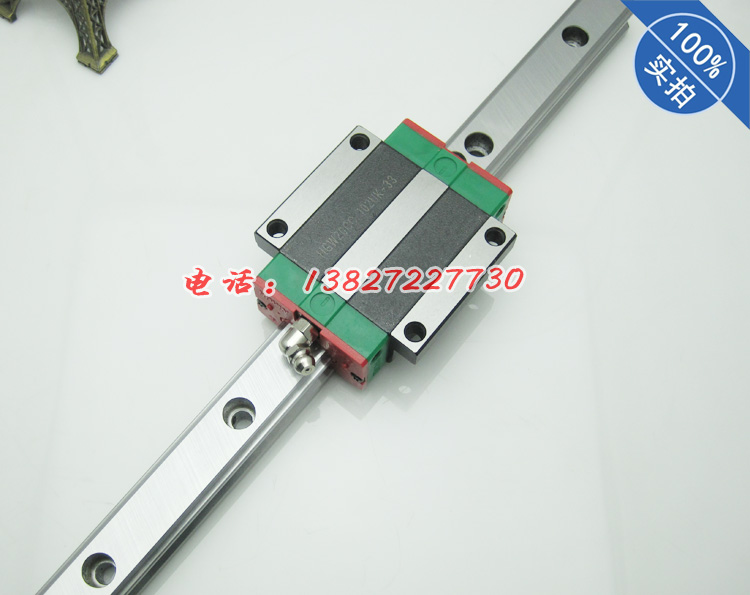 HIWIN Taiwan made HGR20 length 850mm with 1pcs HGW20CC 20mm linear guide rail cnc part 1pcs free shipping to argentina 2 pcs hgr25 3000mm and hgw25c 4pcs hiwin from taiwan linear guide rail