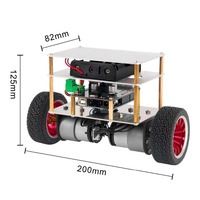 diy car OSOYOO RC Two Wheel Self Balancing Robot Car Kit for OSOYOO DIY Educational Starter Kit, Bluetooth Remote Control by Android (4)
