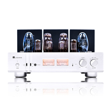 Douk Audio Latest MUZISHARE X10 Dual Tube Rectifier KT150 Tube Amplifier Single-ended Class A Power Amp Phono Preamp
