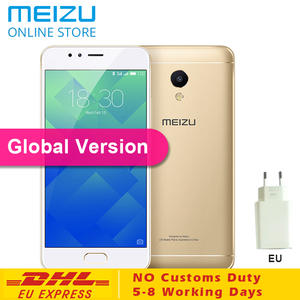 "MEIZU MTK6753 3 GB RAM 16 GB ROM 5.2 ""HD IPS Fingerprint Mobile Phone"