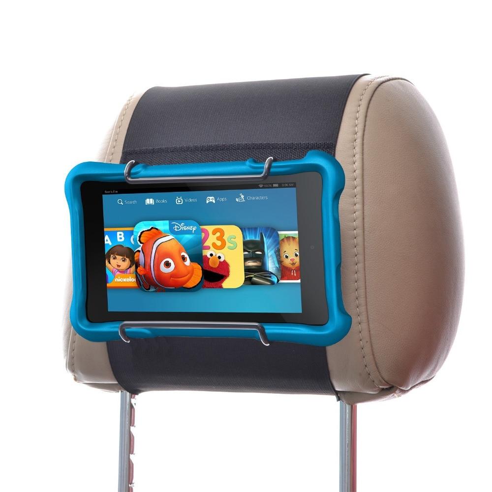 Reyann Car Headrest Mount Holder for All Kindle Fire Tablet - Kindle Fire HD, Kindle Fire Kids Eidition, Kindle 7, Fire 7 HD