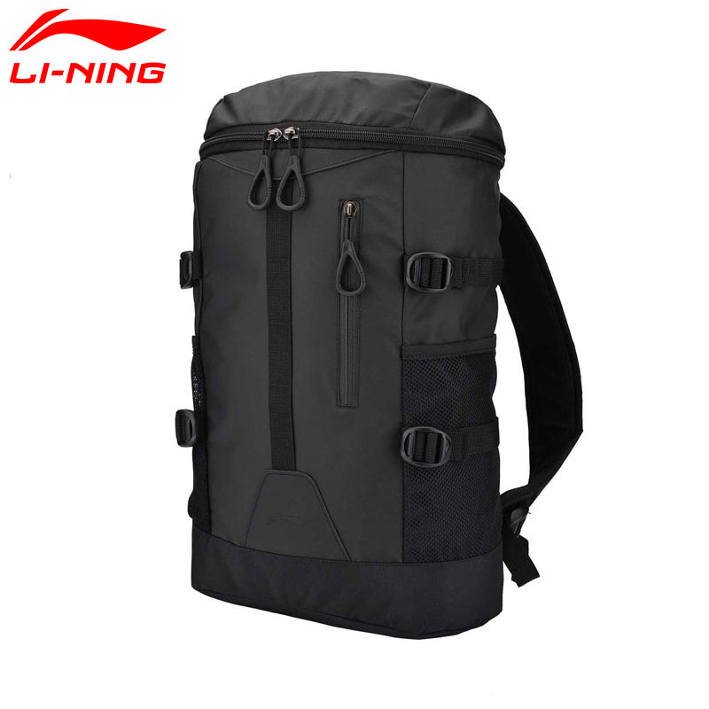 Li-Ning Unisex Urban Sport Backpack Polyester LiNing Sports Bags ABSM164 BBF237