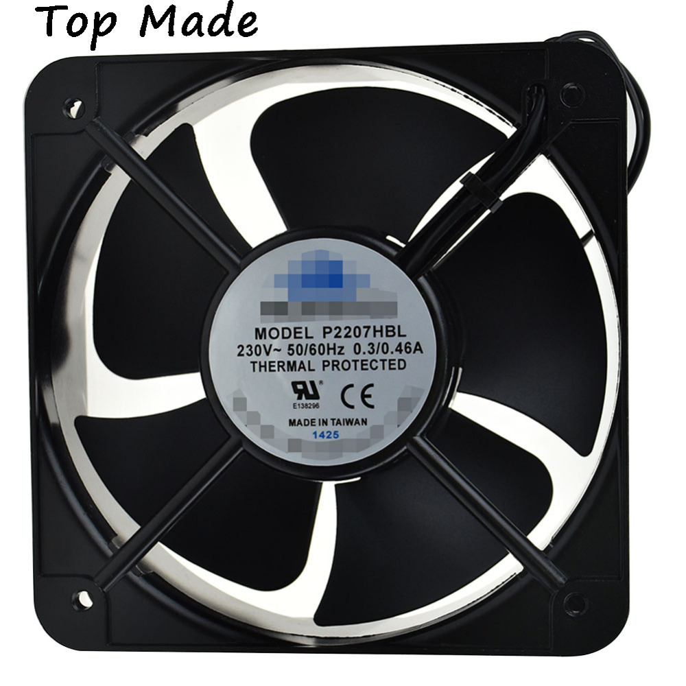 For PROFANTEC P2207HBL 205*72mm AC230V 0.3/0.46A Inverter axial fan cooling fanFor PROFANTEC P2207HBL 205*72mm AC230V 0.3/0.46A Inverter axial fan cooling fan