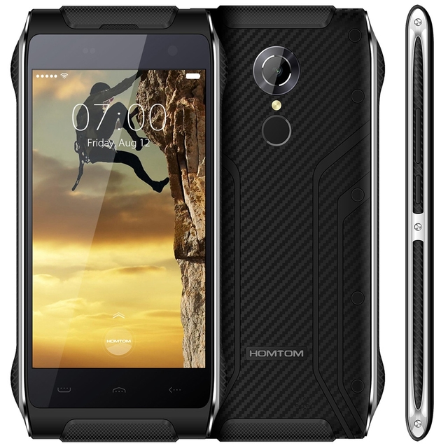 4.7 inch Homtom HT20 Android 6.0 4G Smartphone MTK6737 Quad Core 1.3GHz 2GB RAM 16GB ROM Fingerprint Scanner Waterproof Mobile