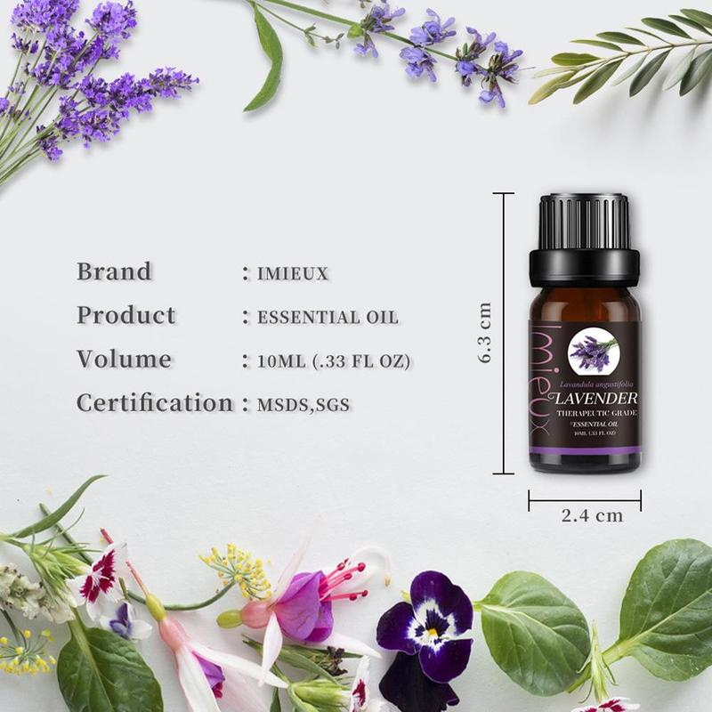 Image 4 - 100% Pure & Natural Essential Oils 10ml Aromatic Essential Oil Tree Lemongrass Ylang Jasmine Tangerine Ginger Essential Oil-in Essential Oil from Beauty & Health