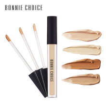 BONNIE CHOICE Liquid Cover Concealer Cream Oil Control Face Eyes Contouring Waterproof Makeup Corrector Liquid Cosmetic 6 Colors