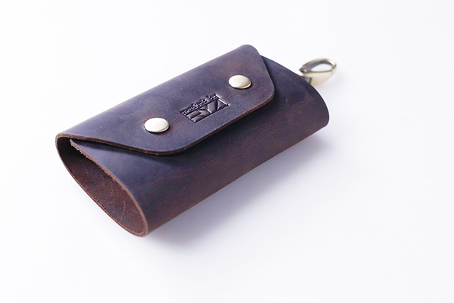 Manual original head layer cowhide leather home key bag leather creative male restoring ancient ways ms key package can DIY
