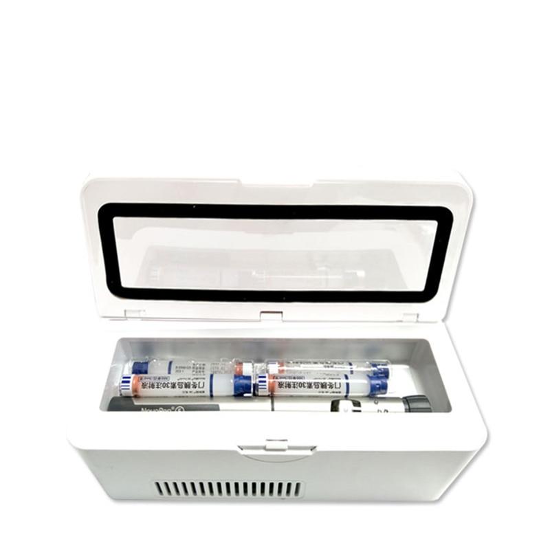 2018 Portable Insulin storage Cooler Bag Diabetic Insulin Cooler Box Rechargeable fridge Mini refrigerator ice box travel bag
