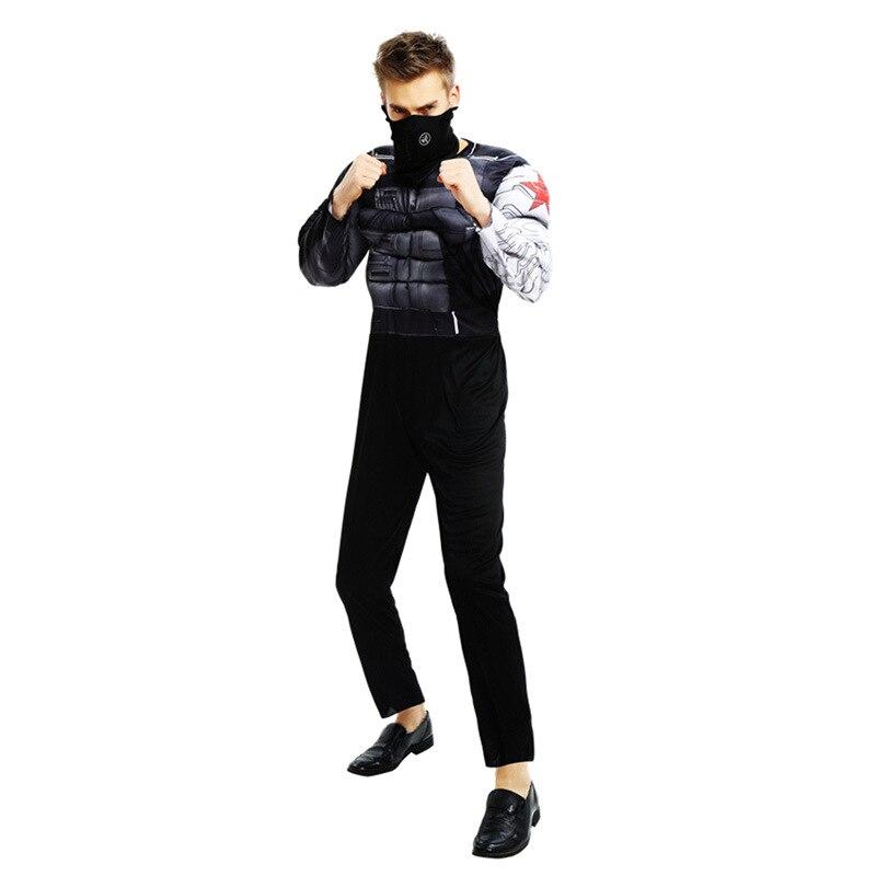Muscle Hiver Soldat Adulte Marvel En Homme Avenger Vente Costume De OwtBISqx