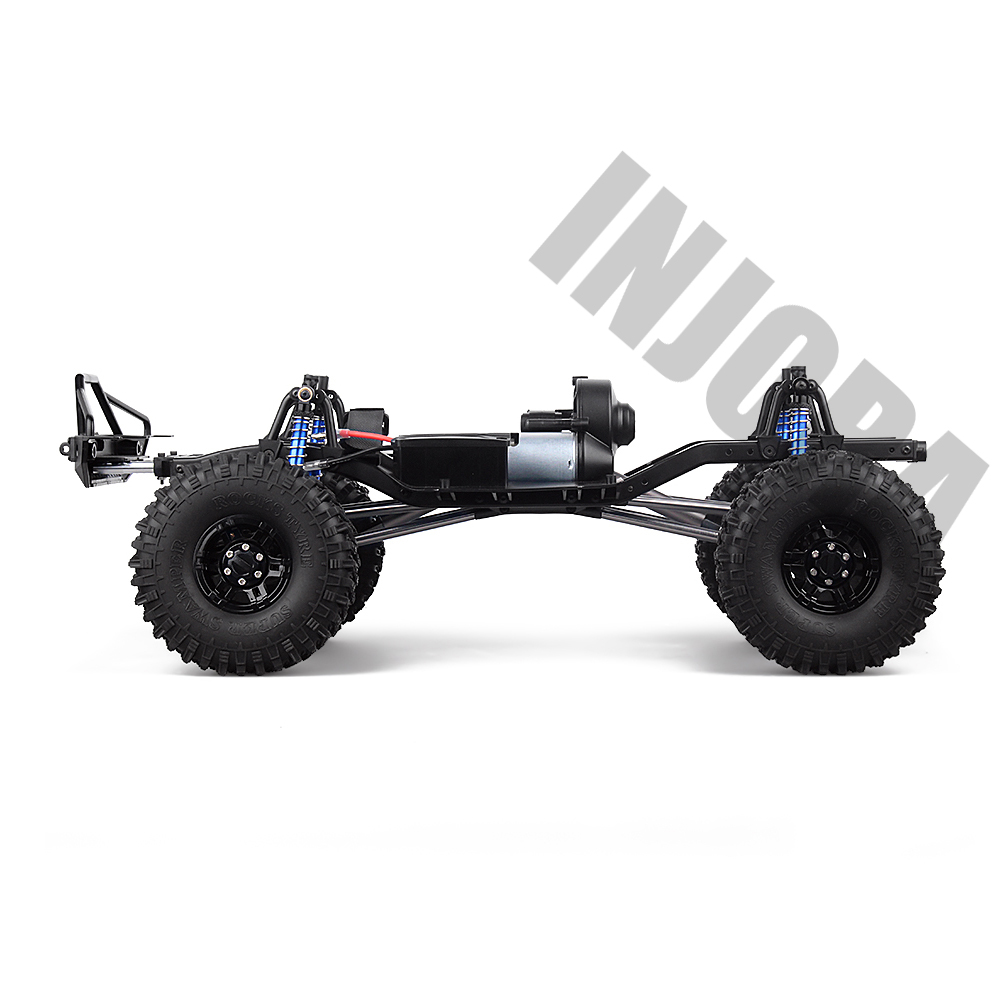"Image 3 - INJORA 313mm 12.3"" Wheelbase Assembled Frame Chassis for 1/10 RC Crawler Car SCX10 SCX10 II 90046 90047-in Parts & Accessories from Toys & Hobbies"