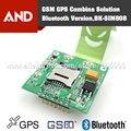 GSM GPS SIM808 Breakout Board, placa de núcleo SIM808, 2 em 1 Quad-band GSM/GPRS Módulo GPS integrado/Módulo Bluetooth